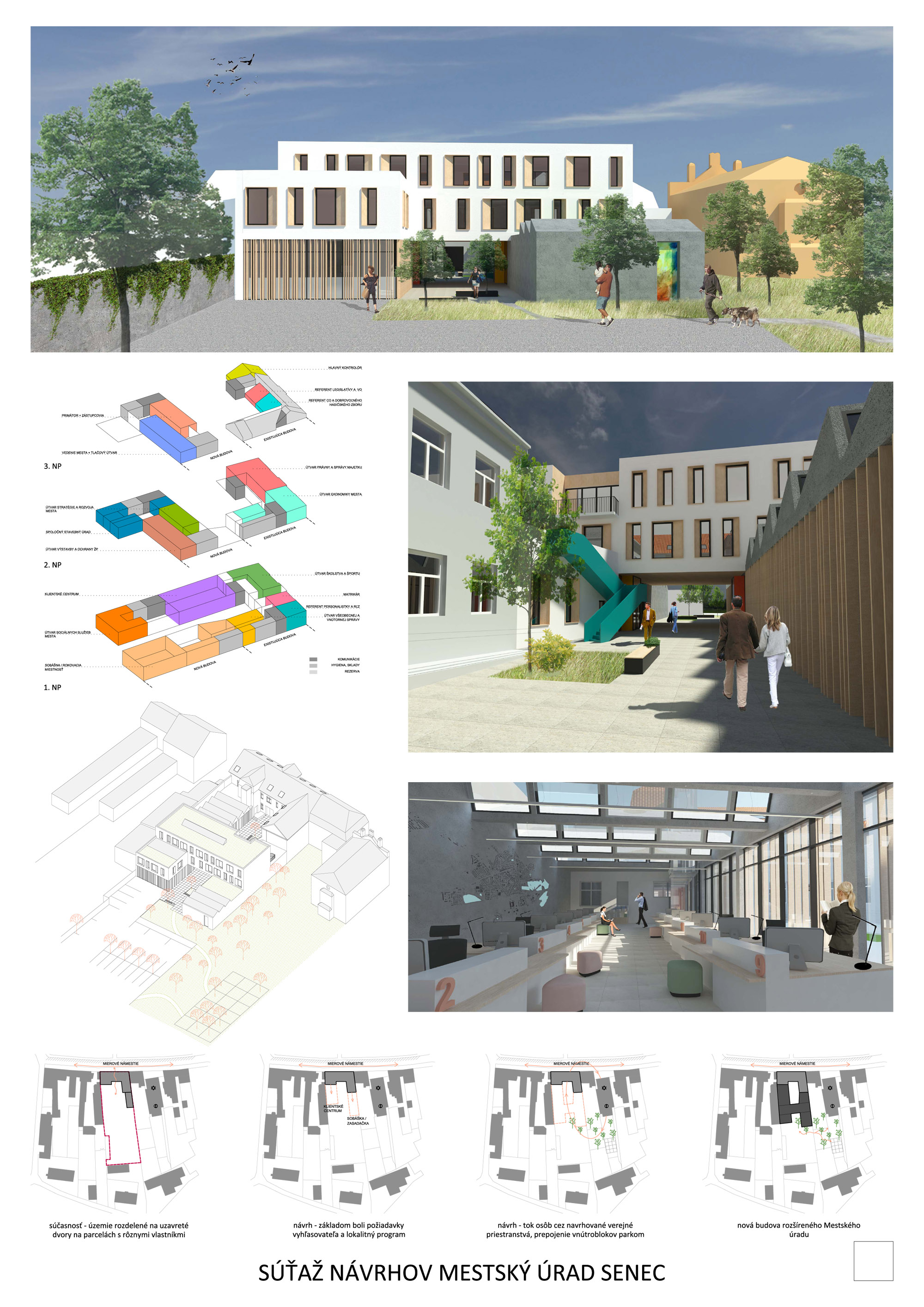 návrh č. 5: M. Lichvárová, Š. Lichvár, M. Petráš, A. Schleicher, spolupráca: B. Lichtmanová