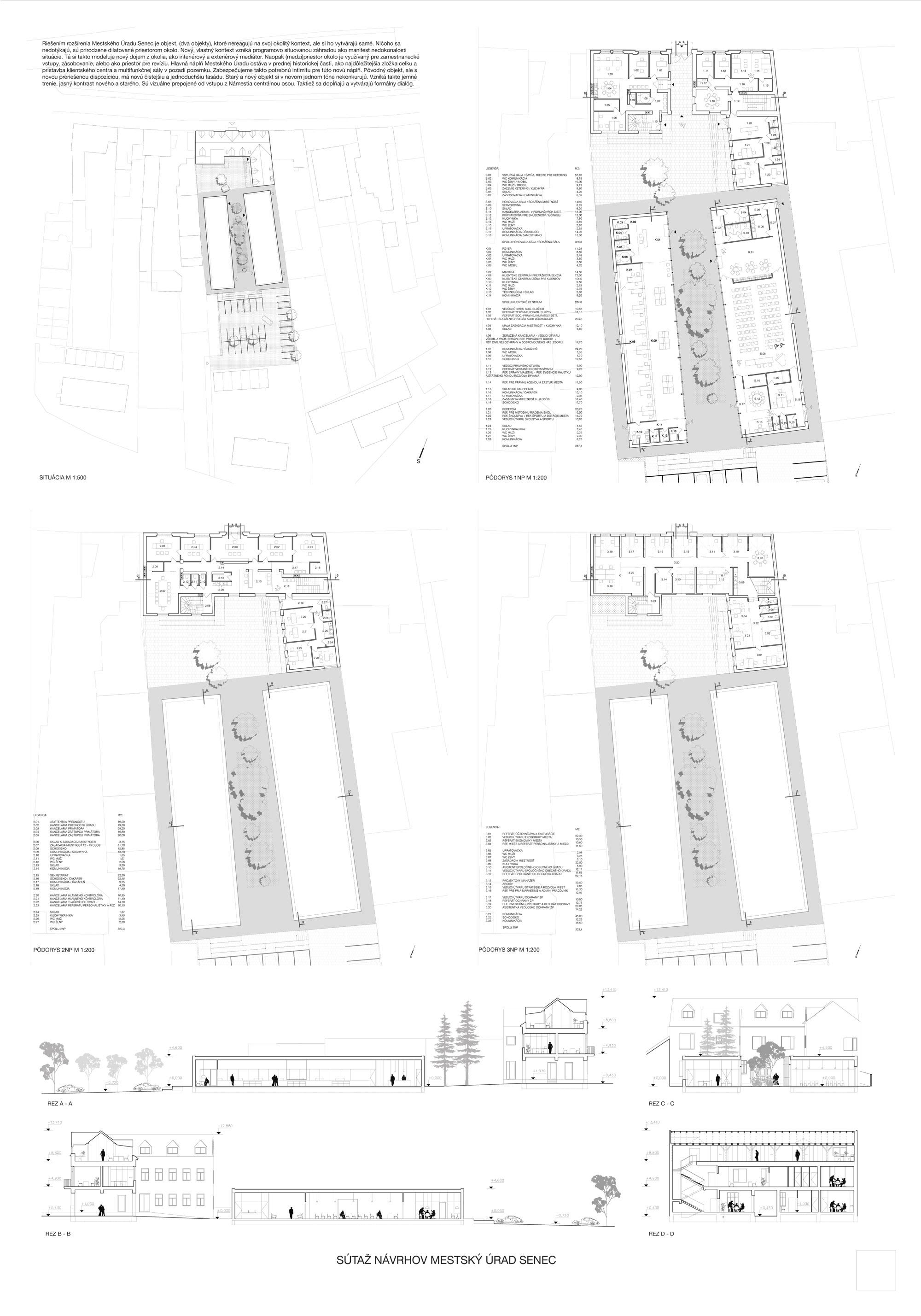návrh č. 12: M. Honč, R. Kilo, P. Vadkerti, M. Kľučár (3. cena)