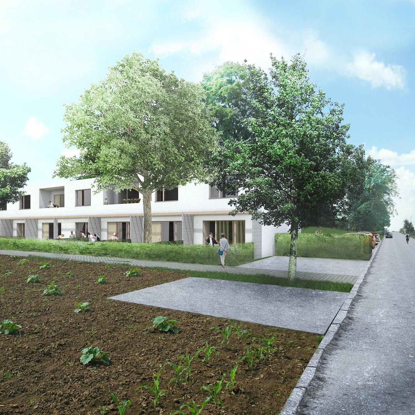 Bytový dom s nájomnými bytmi/Jarok