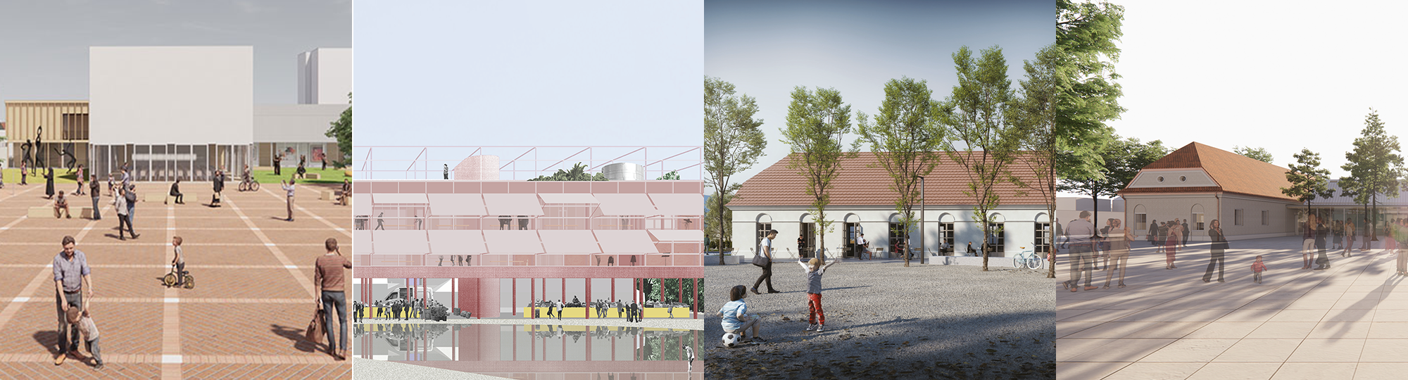Troyerovo námestie aZákladná umelecká škola / Stupava